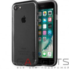 Чехол Laut EXO-FRAME Aluminium bampers для iPhone 7 Matt Black (LAUT_IP7_EX_GM)