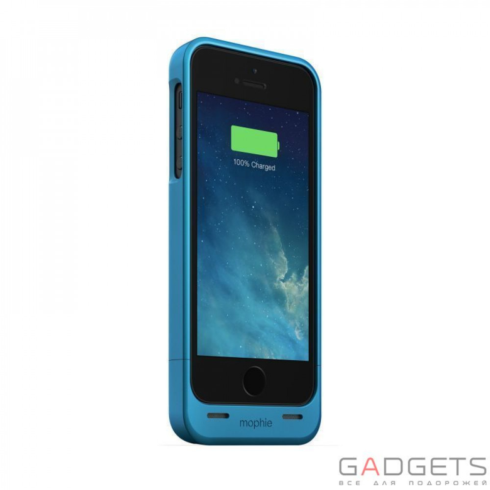 Mophie Juice Pack Helium Blue 1500 mAh for iPhone 5 / 5S (2542-JPH-IP5-BLU-I)