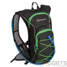 Рюкзак спортивный Highlander Kestrel 9 Hydration Pack 15 Black/Green