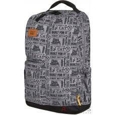 Рюкзак CAT Millennial AOP BFI Черный / Серый (83457;346)