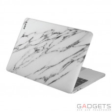 Чехол-накладка Laut Huex Elemets для MacBook Air 13 (2018), белый мрамор