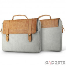 Сумка для ноутбука Baseus British Series Laptop Bag Brown/Gray