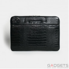 Сумка Issa Hara MacBook 13'' Black Croco (B13_21)