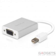 Кабель для відео Macally Mini Display to VGA Adaptor білий (MD-VGA-4K)