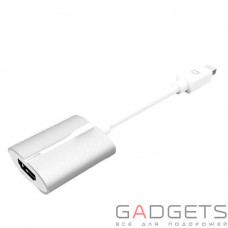 Кабель (видео) Innerexile Arc Mini DisplayPort to HDMI Adapter White (MH-001-001)