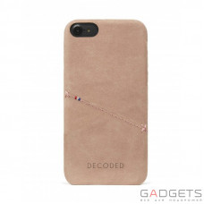 Чехол Decoded Leather Back Cover для iPhone 7 Розовый (D6IPO7BC3RE)