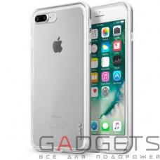 Чехол Laut EXO-FRAME Aluminium bampers для iPhone 7 Silver (LAUT_IP7_EX_SL)