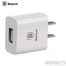 Сетевое зарядное устройство Baseus Letour Charger 2.1 Amp White
