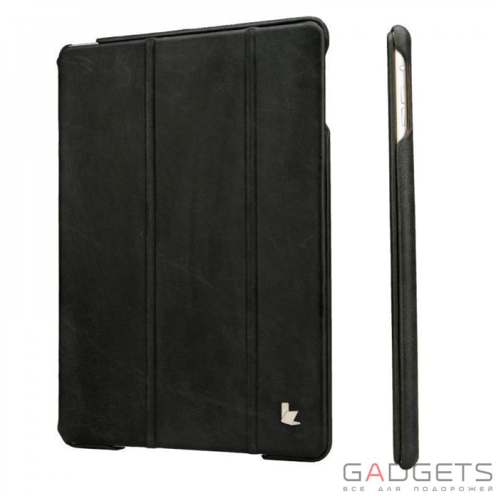 Фото Jison Case Vintage Leather Smart Case Black for iPad Air (JS-ID5-01A10)
