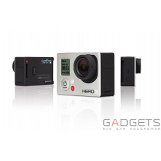 Камера GoPro HD HERO3 White Edition + подарок GoPole EVO