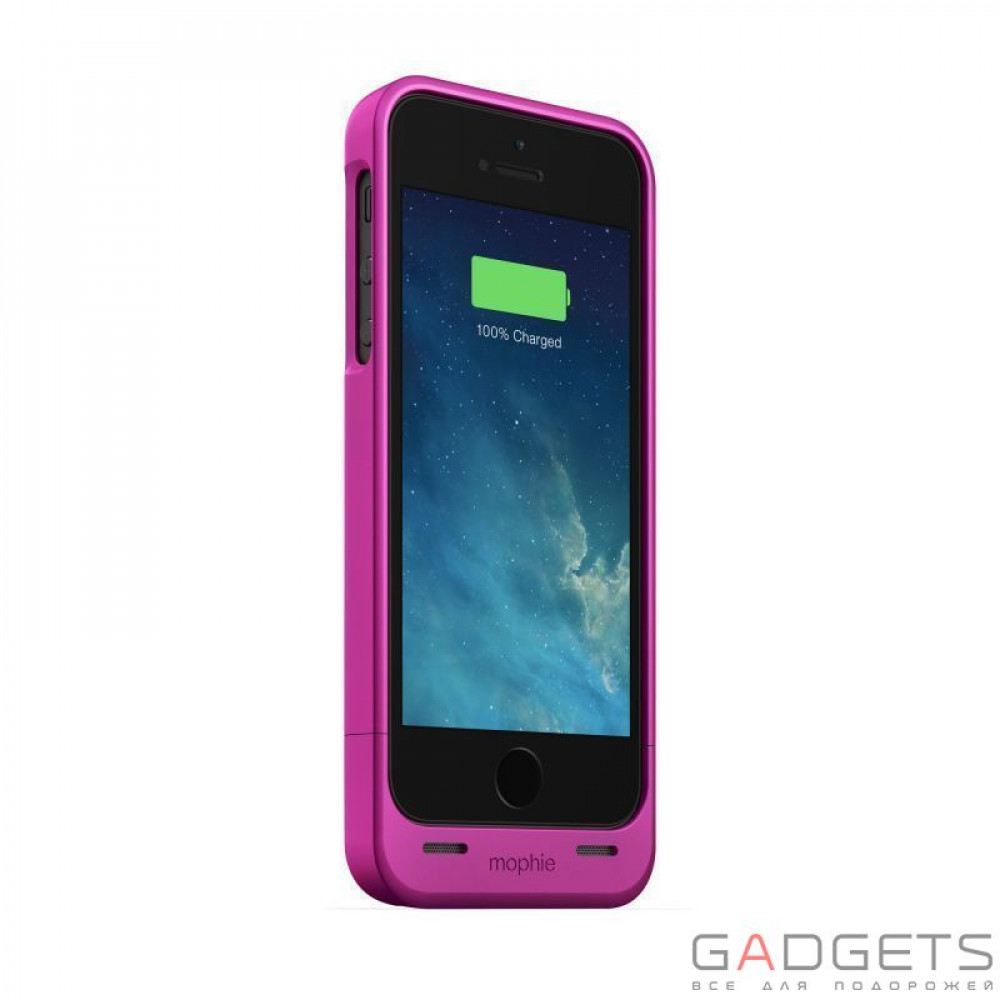 Фото Mophie Juice Pack Helium Pink 1500 mAh for iPhone 5 / 5S (+2544-JPH-IP5-PNK-I)