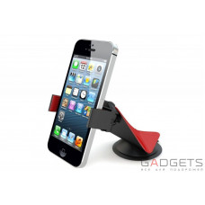 Автомобильный держатель для смартфона IWALK Lucanus Universal car mount red