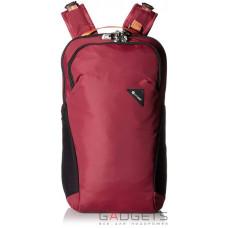 Рюкзак антивор Pacsafe Vibe 20, 5 степеней защиты, бордовый