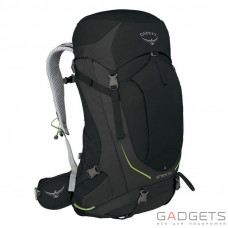 Рюкзак Osprey Stratos 50 Black S/M, черный