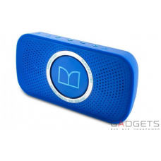 Портативна акустика Monster® Superstar™ High Definition Bluetooth Speaker Neon Blue (MNS-129262-00)