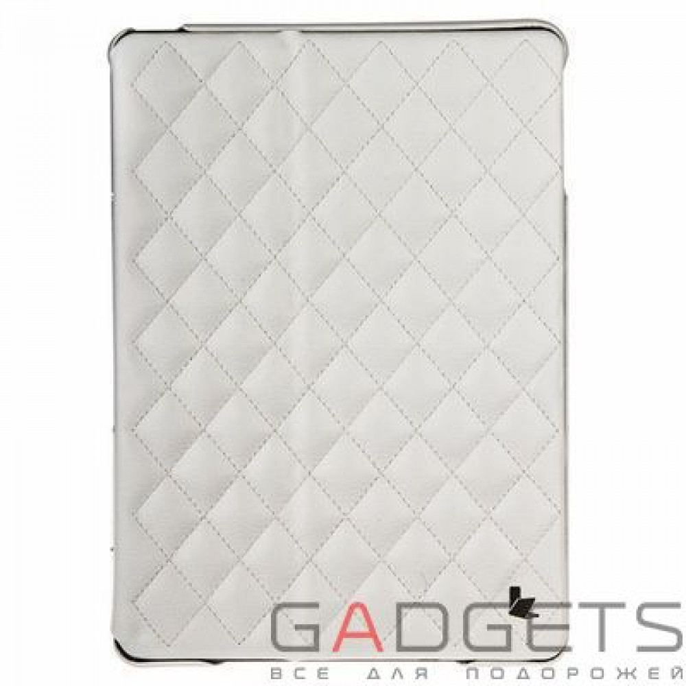 Фото Jison Case Quilted Leather Smart Case White for iPad Air (JS-ID5-02H00)