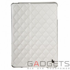 Jison Case Quilted Leather Smart Case White for iPad Air (JS-ID5-02H00)