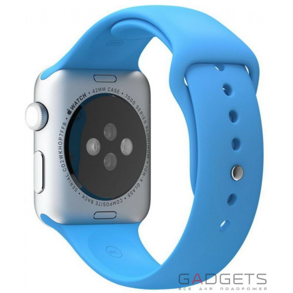 Фото Ремінець COTEetCI W3 Sport Band для Apple Watch 42mm Blue