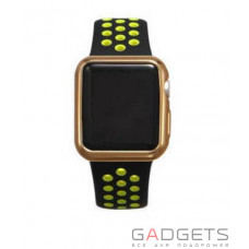 Чохол COTEetCI TPU Gold Case для Apple Watch 2 42MM (CS7041-CE)