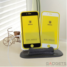 Защитная пленка Baseus Silk-screen Blue Light Protection Tempered Glass Film 0.2mm для iPhone 6/6s Plus Black