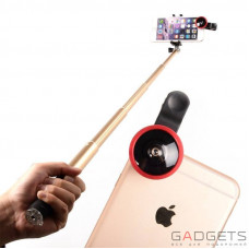 Селфи-палка Baseus Monopod AppHome Bluetooth Selfstick with wide-angle Lens 83cm Gold