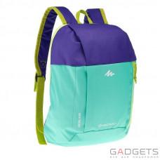 Рюкзак ARPENAZ KID Quechua Салатовый/Фиолетовый