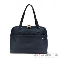 Жіноча сумка через плече антизлодій Pacsafe Citysafe CX slim, 6 ступенів захисту, чорна