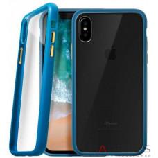 Чохол Laut Accents для iPhone X Blue (LAUT_iP8_AC_BL)