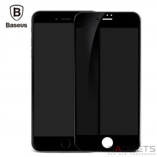Защитная пленка Baseus 0.23mm Soft edge Anti-peeping Glass Film для iPhone 7 Black