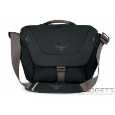 Сумка Osprey Flap Jack Courier Black O/S, черная