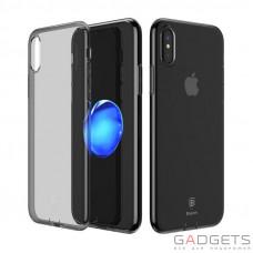 Чехол Baseus Simple Series Case Transparent Black для iPhone X (ARAPIPH8-B01)