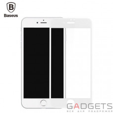 Захисна плівка  Baseus PET Soft Blue Light 3D Tempered Glass 0.23mm White для iPhone 6/6S