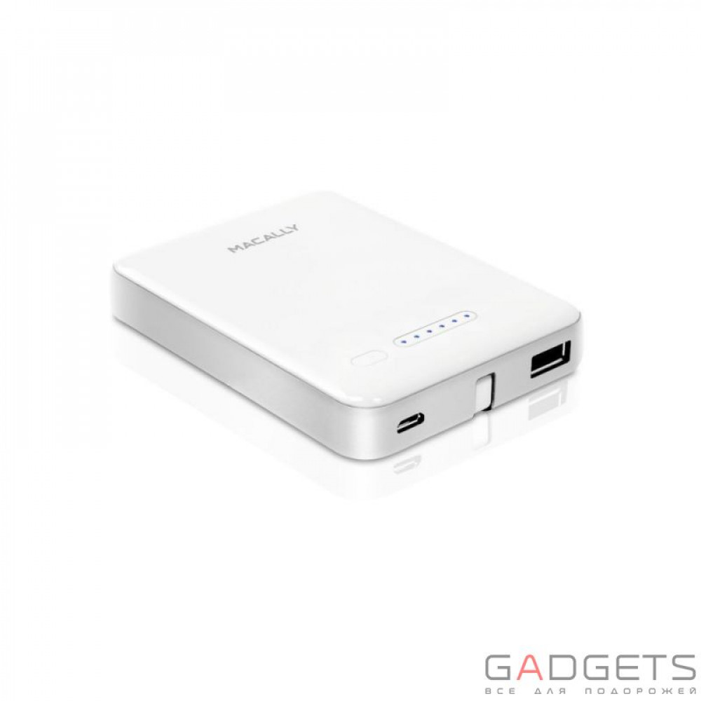 Фото Внешний аккумулятор Macally 3000mAh Portable Battery Charger with Micro USB / Lightning Connector (MBP30L)