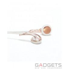 Наушники Frends Ella B Earbud Headphones Rose Gold/White (020597)