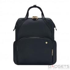 Женский рюкзак антивор Pacsafe Citysafe CX Backpack, 6 степеней защиты, черный