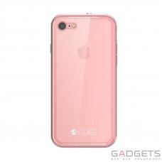 Чохол  SwitchEasy Glass Case Pink для iPhone 7