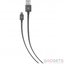 Кабель Incase Sync and Charge Flat Cable 9.8 Lightning Charcoal (EC20146)