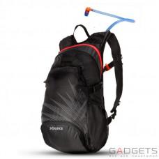 Рюкзак с гидратором SOURCE Fuse 2+6L Black/Red (2052222002)