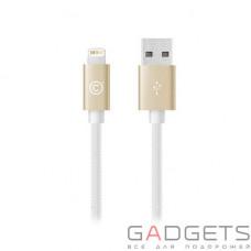 Кабель для зарядки и синхронизации Lab.C Lightning Starp Cable A.L Champagne Gold (1.2 m) (LABC-505-GL_N)