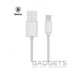 Кабель Baseus Yaven Lightning Cable для Micro 1M White (CAMUN-02)