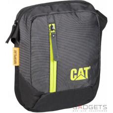 Сумка на плечо CAT The Project Sport Edition Черный/лайм (83373;340)