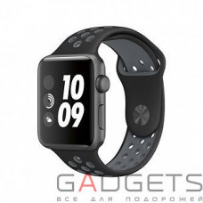 Ремешок COTEetCI W12 Apple Watch Nike band 38mm (WH5217-BK-GY)