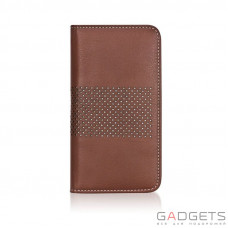 Чехол Bling My Thing для iPhone 5 Infinity Dots Flip Brown/White (BMT-INF-DT-BWW-FC-IP)