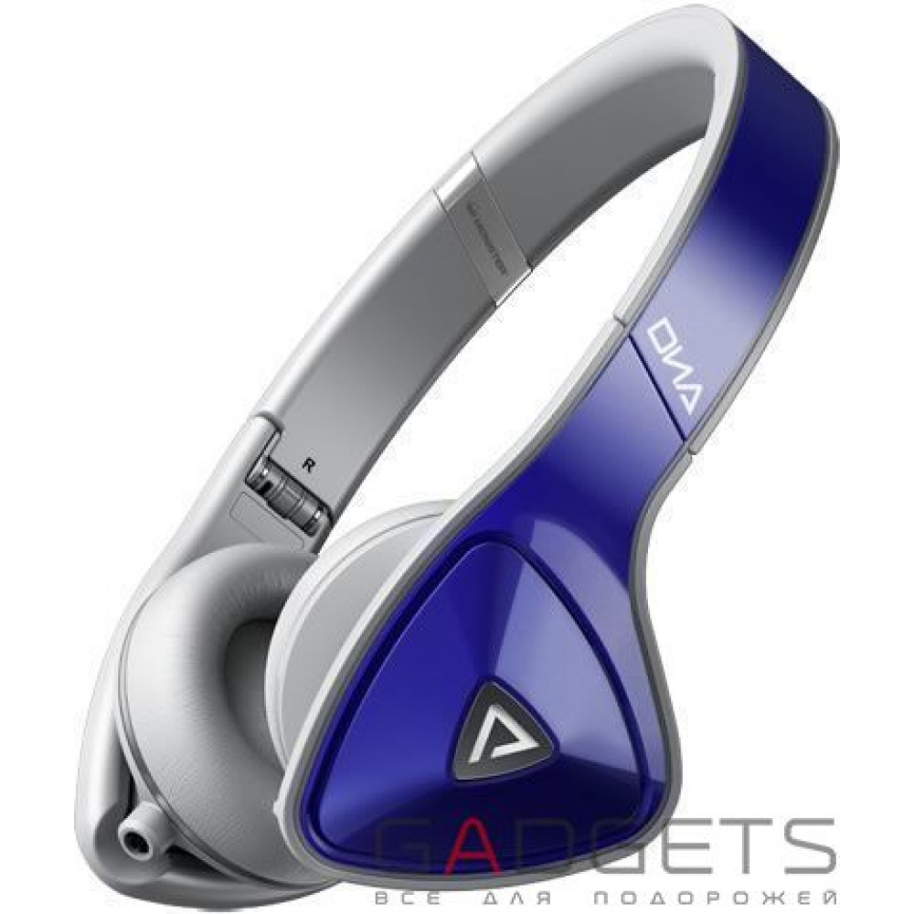 Фото Наушники Monster® DNA On-Ear - Cobalt Blue Over Light Grey