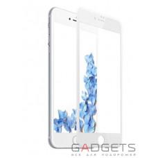 Защитное стекло Baseus 0.2mm Silk-screen Tempered Glass White для iPhone 8 (SGAPIPH7S-ASL02)