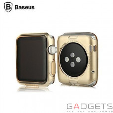 Чохол Baseus Simple Case For Apple watch 38mm Gold