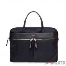 Сумка для ноутбука Knomo Hanover Slim Briefcase 14'' Black (KN-119-101-BLK)