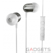 Гарнитура Nocs NS200 Aluminum iOS Earphones with Remote and Mic White (NS200-002)