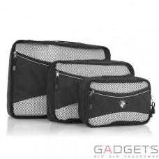 Чехол для одежды Heys Ecotex Packing Cube Grey 3шт