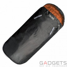 Спальний мішок Highlander Sleephuggerzs/+4°C Black/Orange (Left)